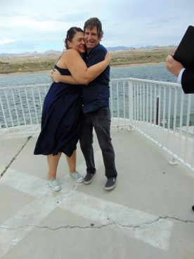 Feb. 17, 2017, the day we got hitched in Laughlin, NV.