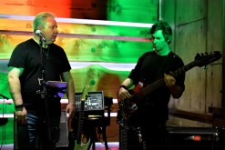 Singer Tom Walker & bass player Jim Keena of Ghosts of Kelso