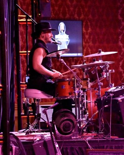 Alex Lugwa, drummer for Rob Staley Band