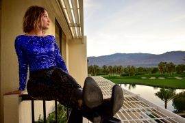 Photo shoots in Palm Desert are easy cheesy...