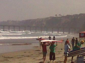 This is Surf Diva School in La Jolla, CA.